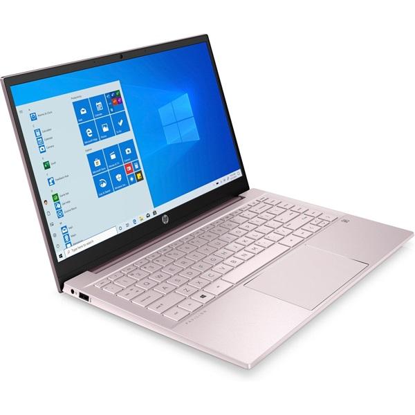 HP Pavilion 14-dv0001nh laptop (14FHD Intel Core i3-1115G4/Int. VGA/4GB RAM/256GB/Win10) - pink - 2
