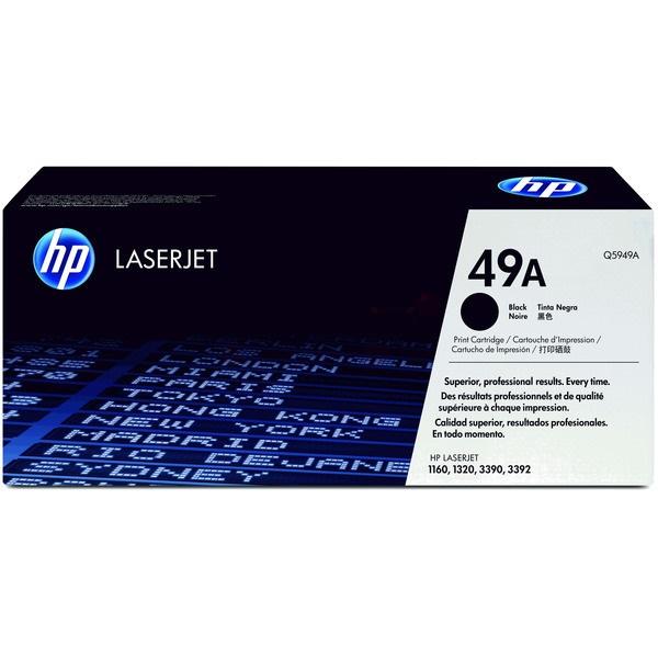 HP Q5949A (49A) fekete toner - 1