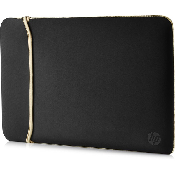 HP Sleeve 15,6 kifordítható fekete-arany notebook tok - 1