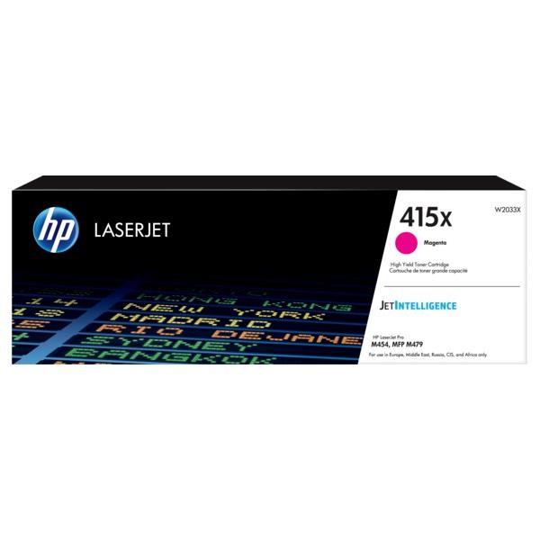 HP W2033X (415X)  magenta nagykapcítású toner - 1