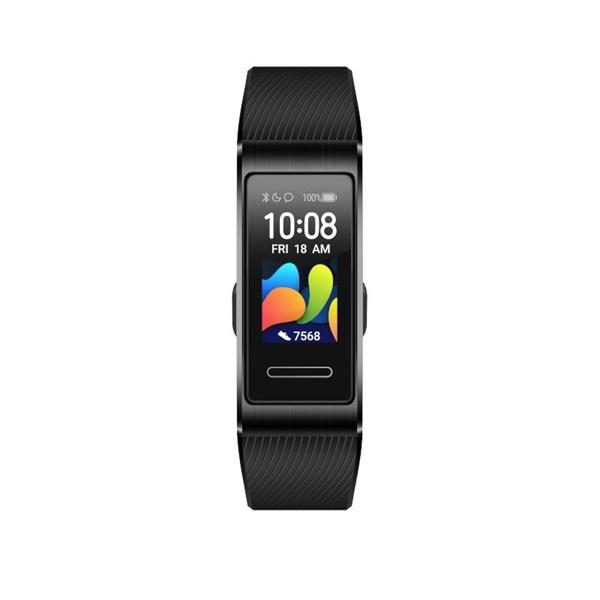 Huawei Band 4 Pro fekete aktivitásmérő karpánt - 1