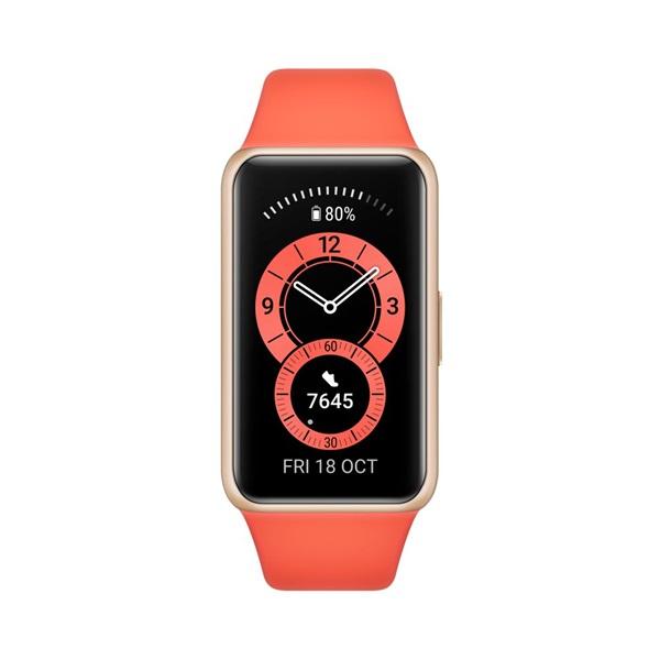 Huawei Band 6 Amber Sunrise aktivitásmérő karpánt - 1