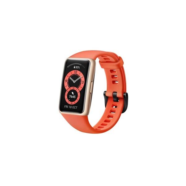 Huawei Band 6 Amber Sunrise aktivitásmérő karpánt - 4
