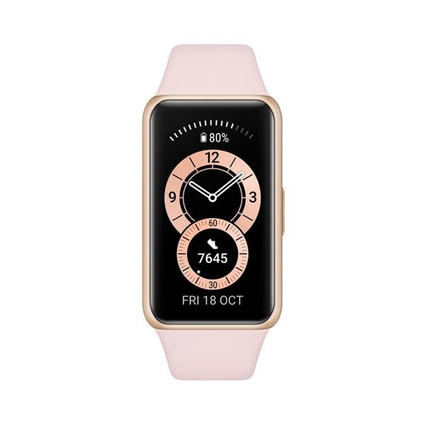 Huawei Band 6 Sakura Pink aktivitásmérő karpánt - 1