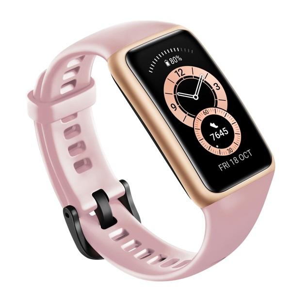 Huawei Band 6 Sakura Pink aktivitásmérő karpánt - 3