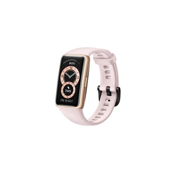 Huawei Band 6 Sakura Pink aktivitásmérő karpánt - 4