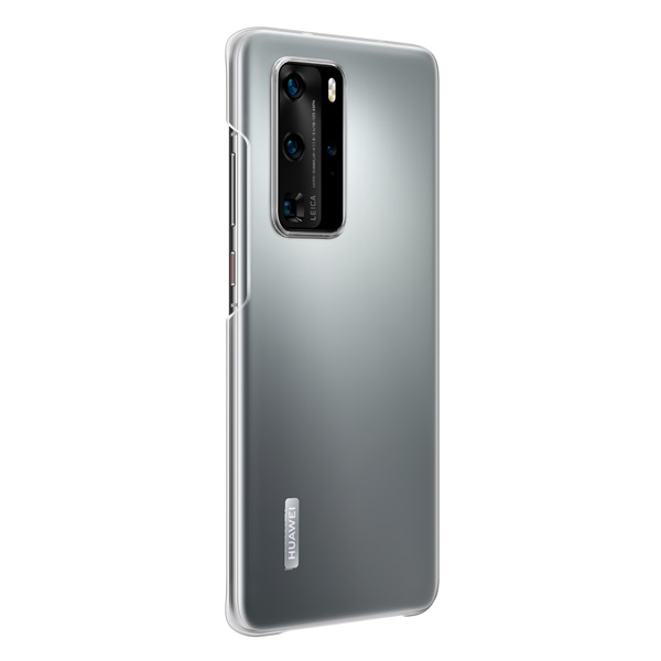 Huawei HUA-PCC-P40P-TP P40 Pro átlátszó műanyag hátlap - 1