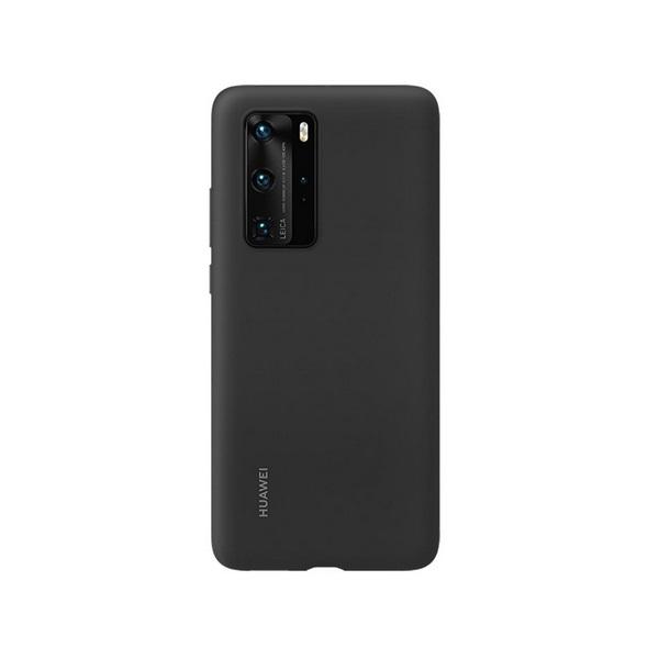 Huawei HUA-TPU-P40P-BK P40 Pro fekete szilikon hátlap - 1