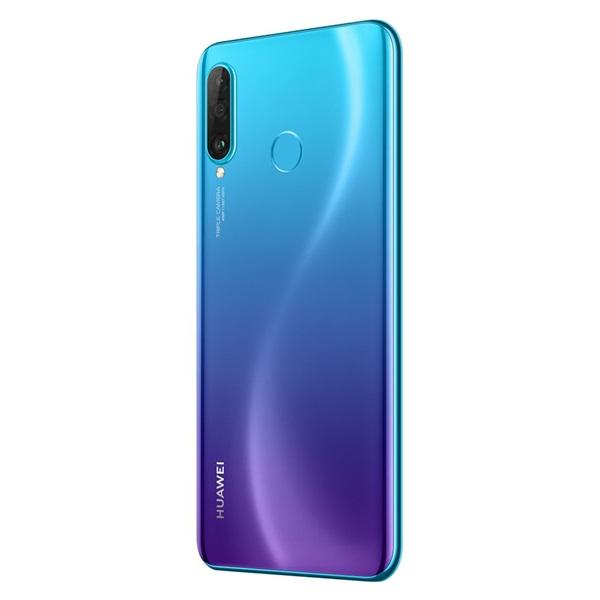 Huawei P30 Lite 6,15 LTE 128GB Dual SIM pávakék okostelefon - 8