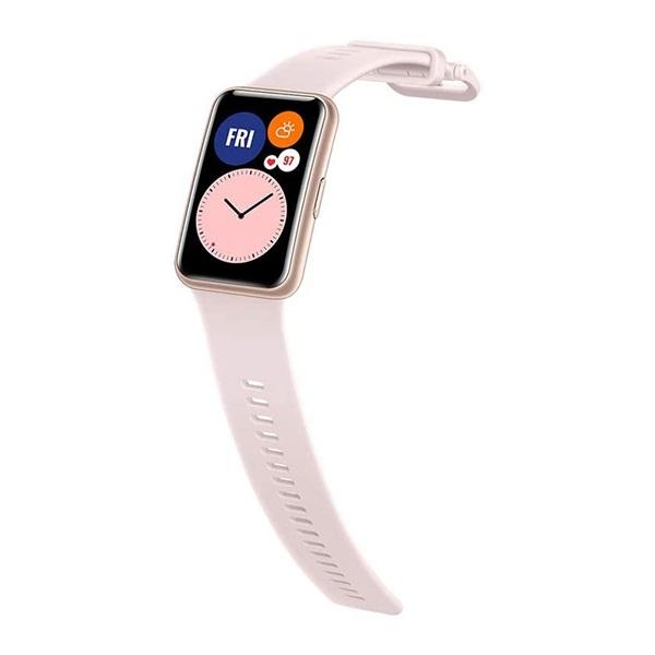 Huawei Watch Fit rózsaszín okosóra - 2