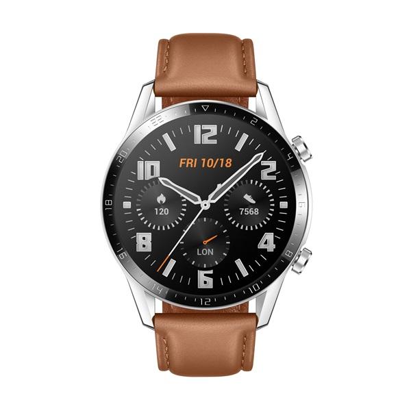 Huawei Watch GT 2 46mm Pebble Brown barna sport okosóra - 1