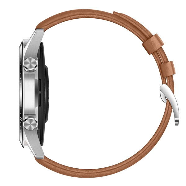 Huawei Watch GT 2 46mm Pebble Brown barna sport okosóra - 4
