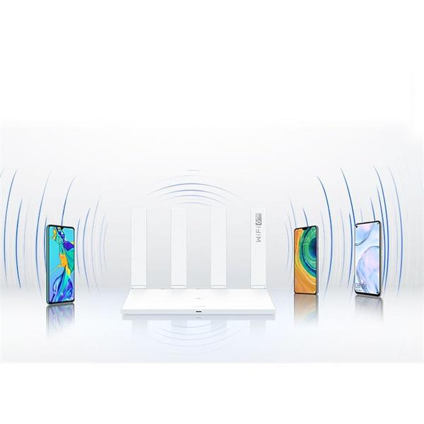 Huawei WS7100-20 fehér wifi router - 4