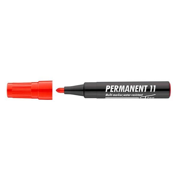 ICO 11 piros permanent marker - 1