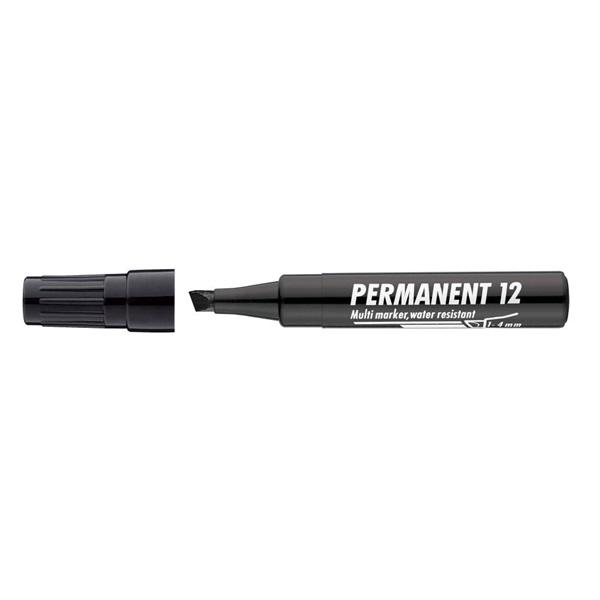 ICO 12 fekete permanent marker - 1