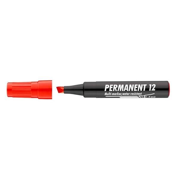 ICO 12 piros permanent marker - 1