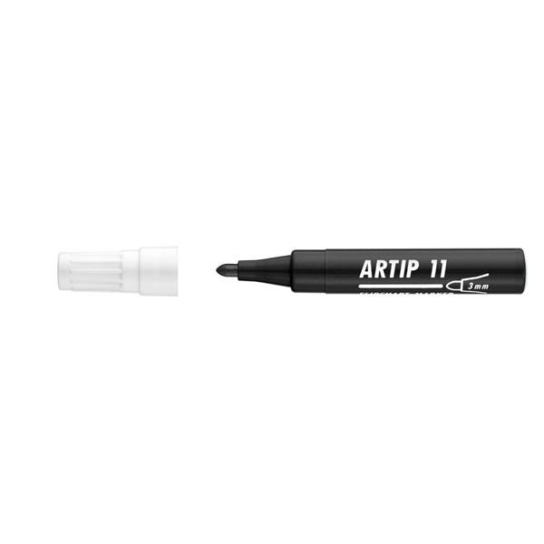 ICO Artip 11 fekete flipchart marker - 1