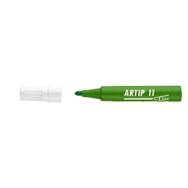 ICO Artip 11 zöld flipchart marker - 1