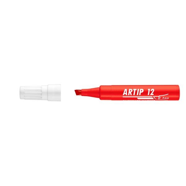 ICO Artip 12 piros flipchart marker - 1