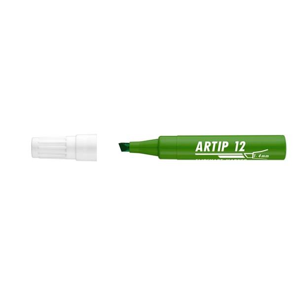 ICO Artip 12 zöld flipchart marker - 1