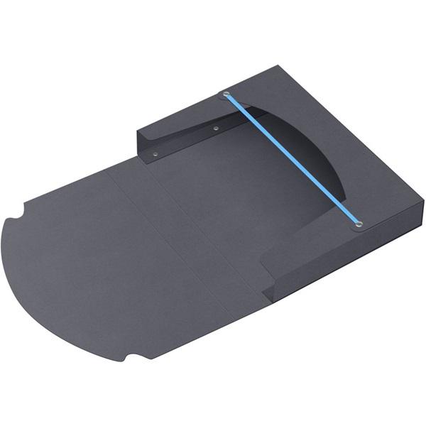 ICO Boxer A4 5cm fekete gumis box - 1
