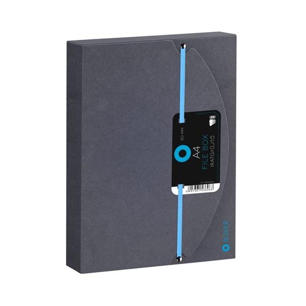 ICO Boxer A4 5cm fekete gumis box - 2