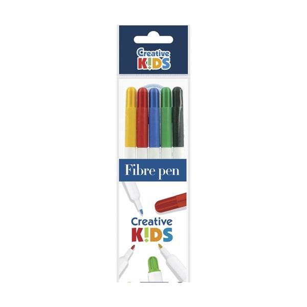 ICO Creative Kids Rainbow 5db-os vegyes színű rostirón készlet - 1
