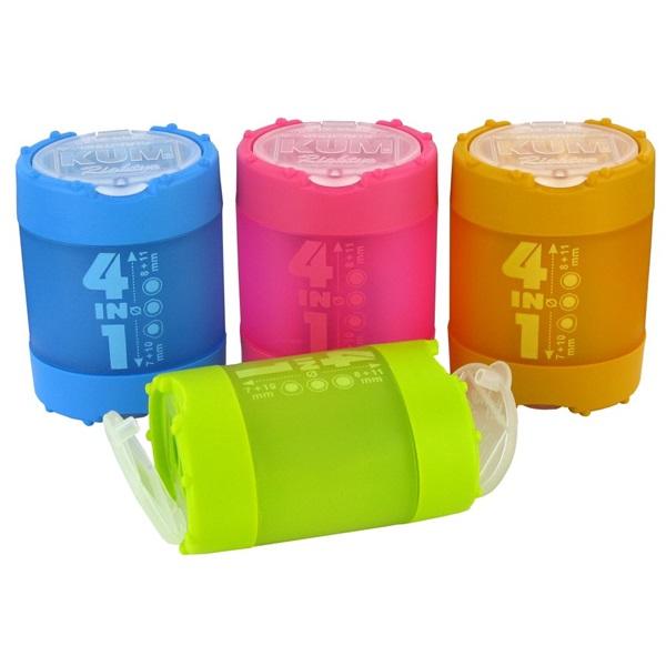 ICO KUM 4in1 4 lyukú műanyag hegyező - 1