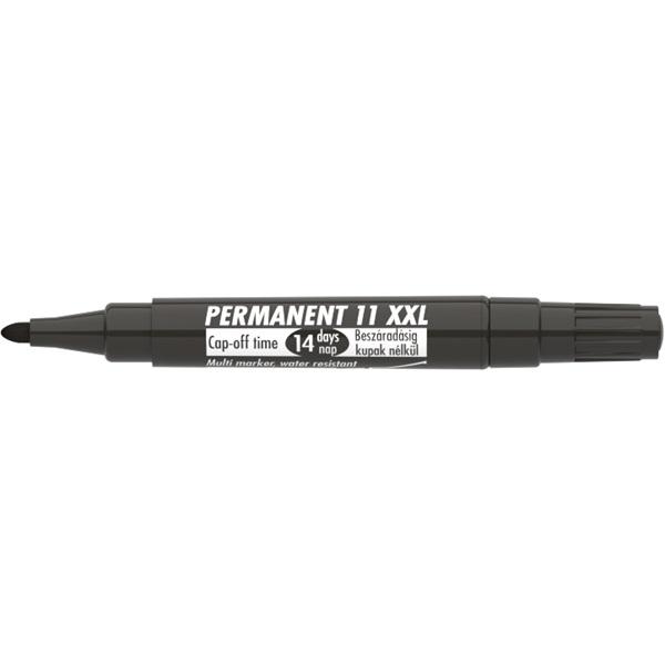 ICO Permanent 11 XXL fekete marker - 2