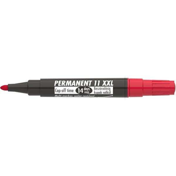 ICO Permanent 11 XXL piros marker - 2