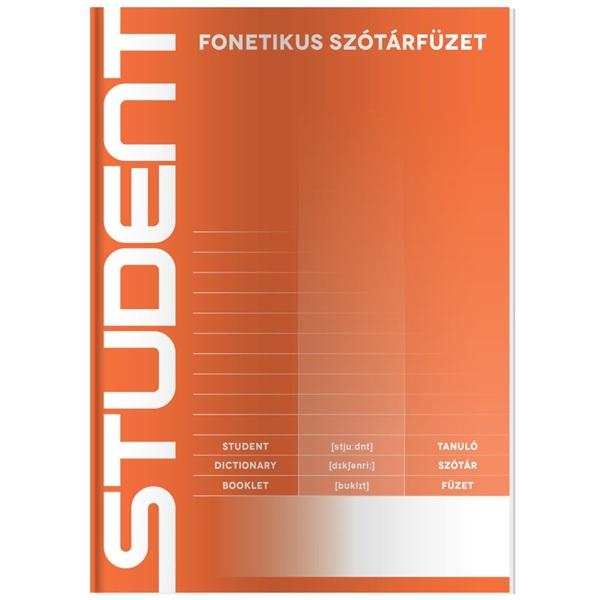 ICO Student A5 fonetikus szótárfüzet - 1