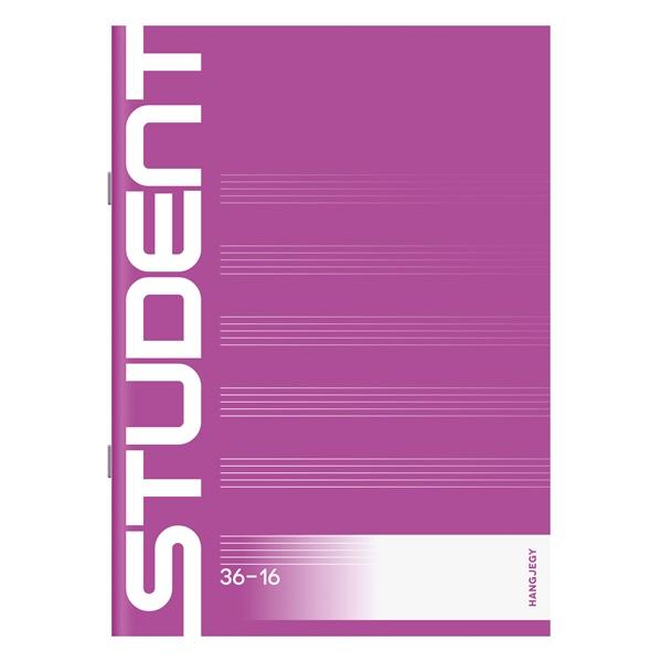 ICO Student A5 hangjegyfüzet - 1