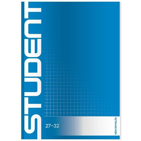 ICO Student A5 kockás füzet - 1