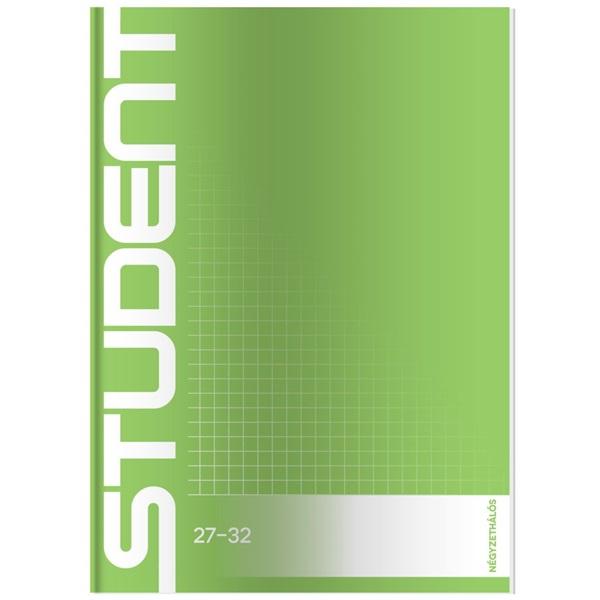 ICO Student A5 kockás füzet - 3