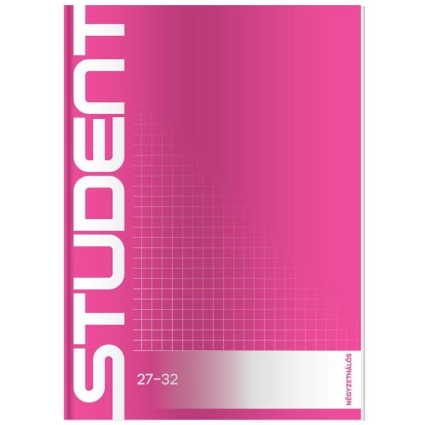 ICO Student A5 kockás füzet - 4