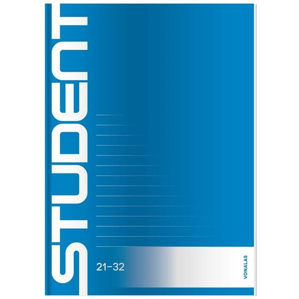 ICO Student A5 vonalas füzet - 1