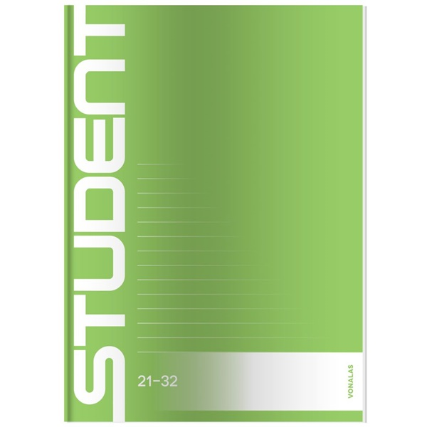 ICO Student A5 vonalas füzet - 3