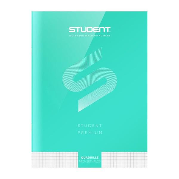 ICO Student Prémium A4 32lapos kockás füzet - 3
