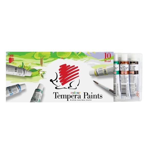 ICO Süni 10 színű tempera készlet - 1