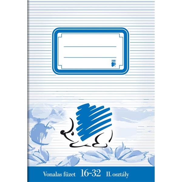 ICO Süni A5 16-32 vonalas füzet - 1