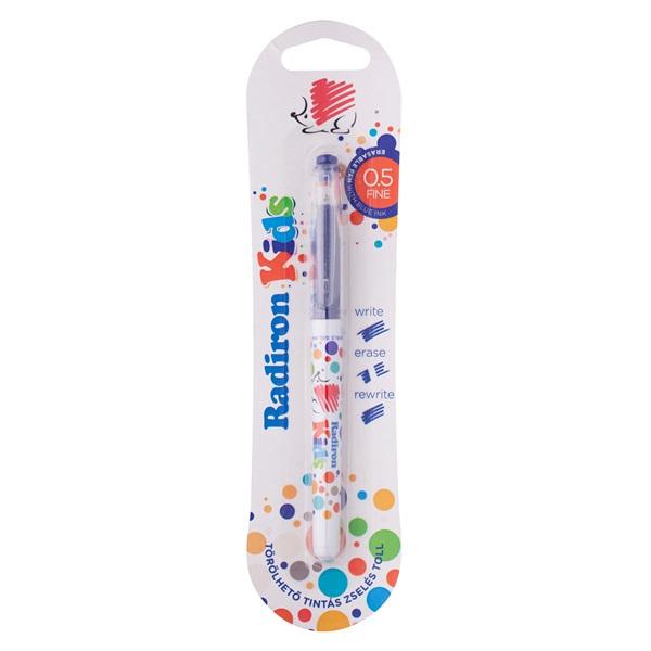 ICO Süni Radiron Kids törölhető kupakos kék zseléstoll - 1