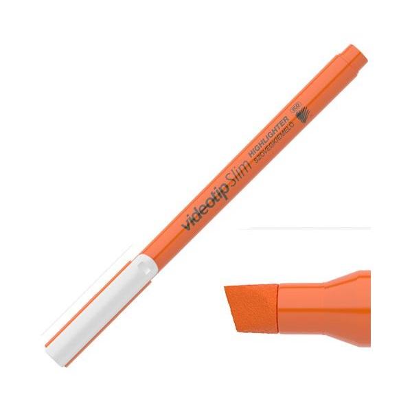 ICO Videotip Slim narancssárga szövegkiemelő - 1