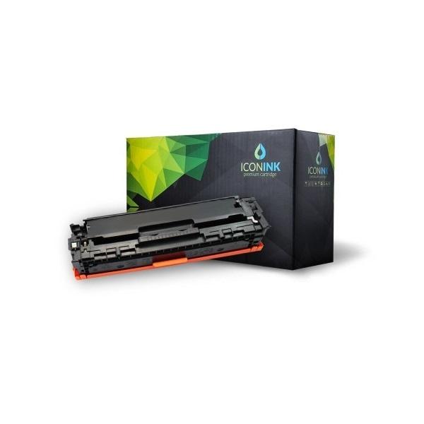 Iconink HP CB540A Canon CRG-116 CRG-316 CRG-416 CRG-516 CRG-716 CRG-916 utángyártott 2200 oldal fekete toner - 1