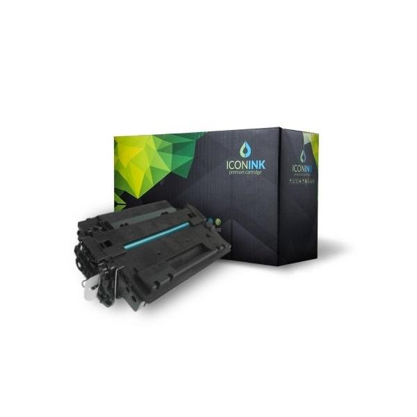 Iconink HP CE255A Canon CRG-524 utángyártott 6000 oldal fekete toner - 1