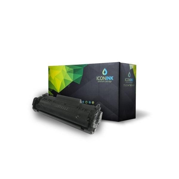 Iconink HP Q2612A Canon FX9  FX10  CRG-303  CRG-304 utángyártott 2000 oldal fekete toner - 1