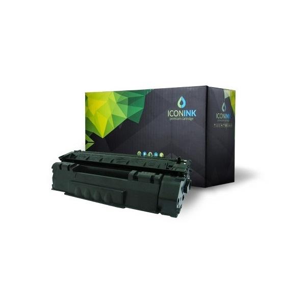 Iconink HP Q5949A Canon CRG-508 utángyártott 2500 oldal fekete toner - 1