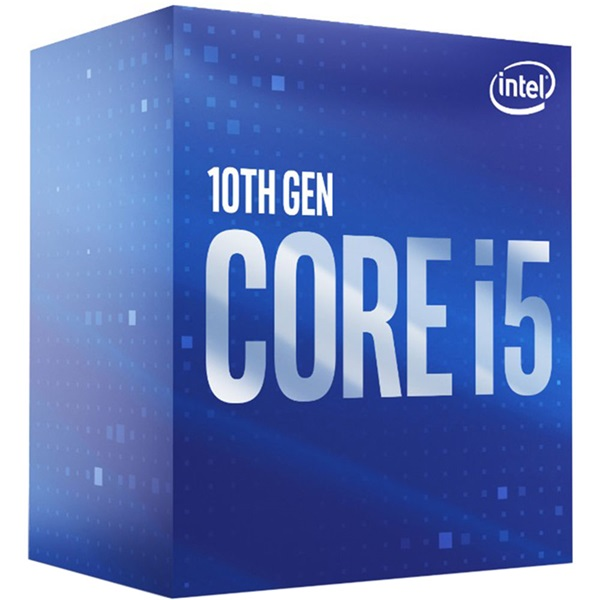 Intel Core i5 2,90GHz LGA1200 12MB (i5-10400F) box processzor - 1