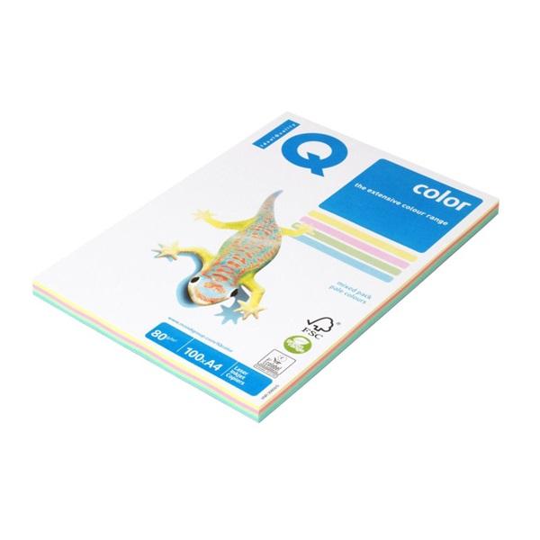 IQ Color A4 80g pasztel színű 4x25db másolópapír - 1