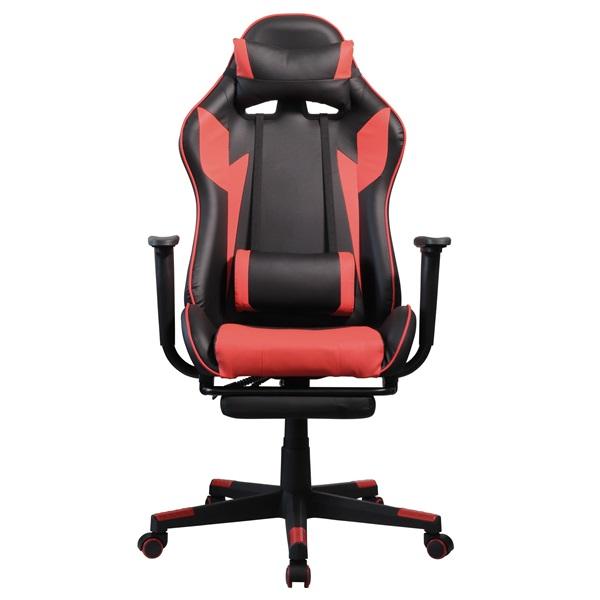 Iris GCG204BR_FT fekete / piros gamer szék - 1