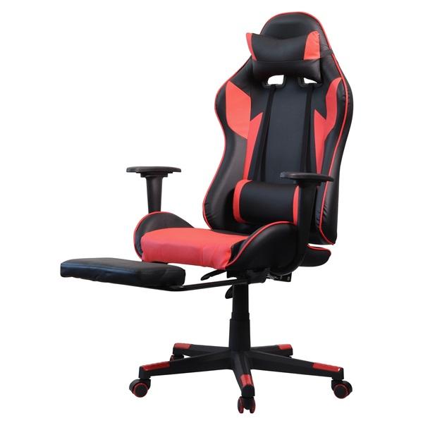 Iris GCG204BR_FT fekete / piros gamer szék - 3